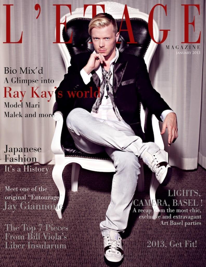 L'Etage Magazine - January 2013