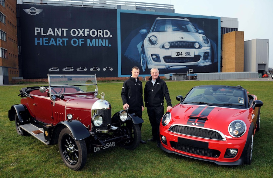 MINI PLANT LEADS CELEBRATION OF 100 YEARS OF CAR-MAKING IN OXFORD ...
