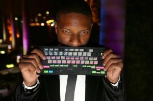 DJ Irie at the black-tie birthday celebration for WILLIAM H. DEAN at Terra Veritatis