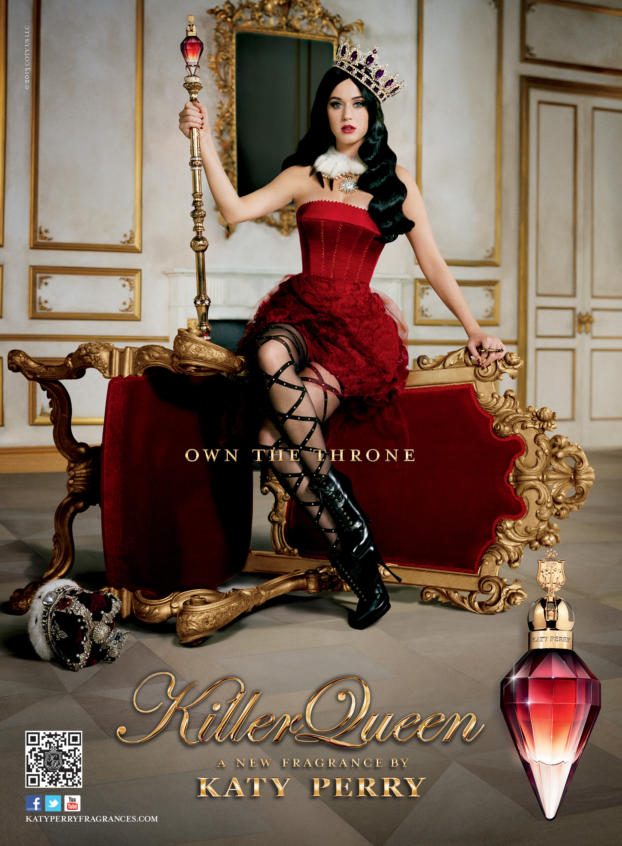 own the throne killer queen a new fragrance by katy. Black Bedroom Furniture Sets. Home Design Ideas