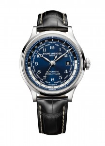 Baume & Mercier Limited Edition Capeland Worldtimer Exclusively for Tourneau (#10135) will retail for $8,300. This special timepiece will be available at select Tourneau stores nationwide in October 2013. It will be considered the ultimate holiday gift for any man who has a deep appreciation for travel as well as classic, elegant timepieces.  (PRNewsFoto/Baume & Mercier)