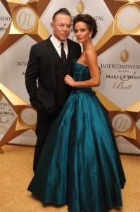 2 Shareef Malnik & Gabrielle Anwar - PHOTO CREDIT World Red Eye