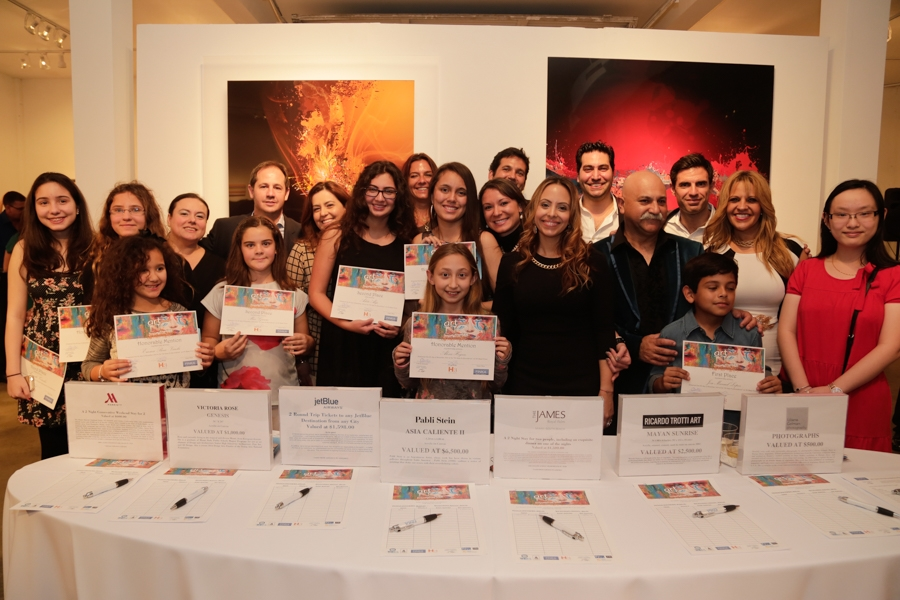 Winner of the Art Sees No Boundaries Contest & Team Real Estate Development (TRED)[17]
