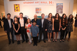 Winners of the Art Wall with the TRED Team