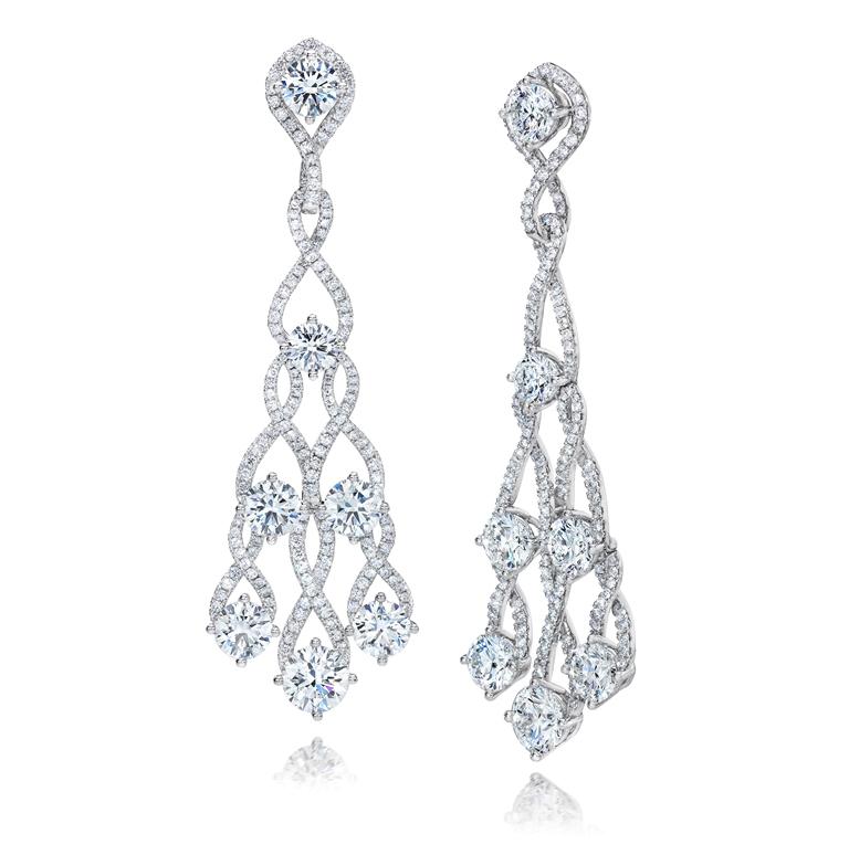 507 094 B0 001 Diamond Earrings Turned