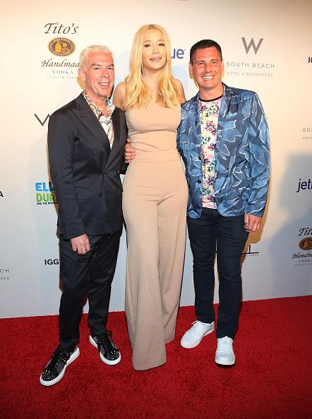 Elvis Duran and Iggy Azalea Host Miami Beach Gay Pride Parade - Kickoff Event