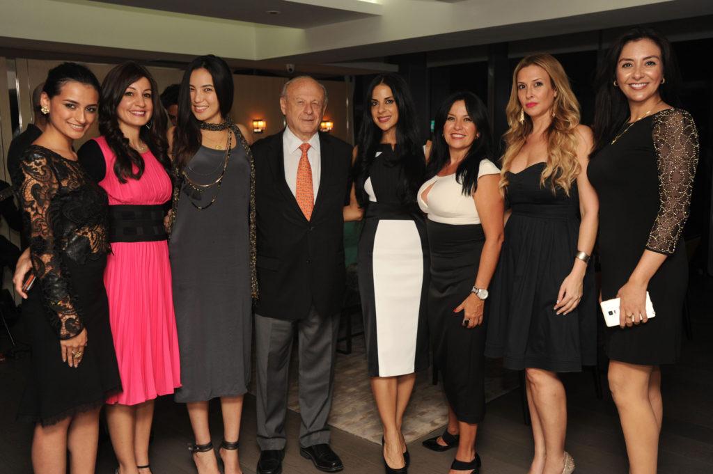 Nicole Lopez, Dorith Ness, Victoria Ho, Eli Klinger, Elena Christodoulou, Sarit Oren, Helen Ashford, & Friend