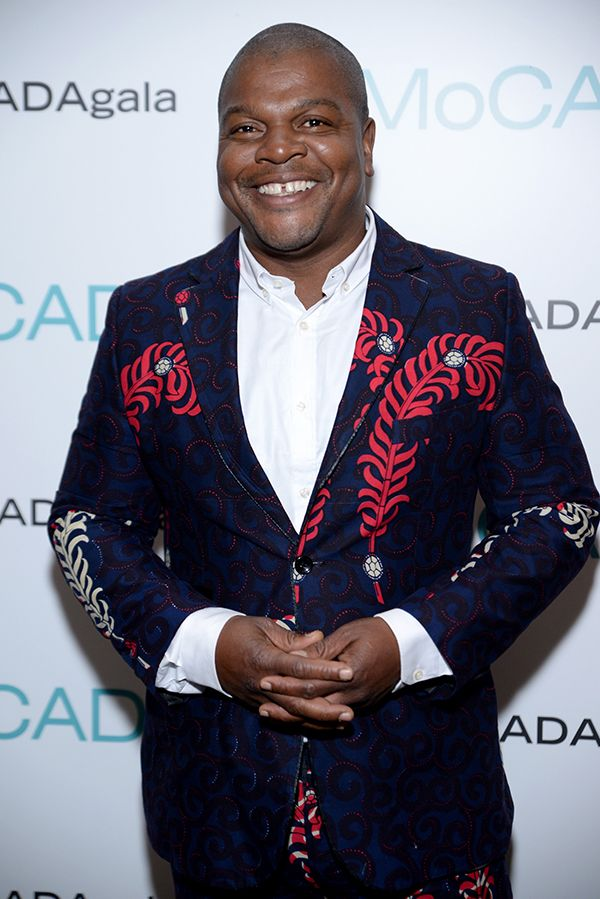 Kehinde Wiley made nr.1 of Artnet's 15 Most Fashionable Men in the Art World 2016 here attending 2016 MoCADA Gala Courtesy Jenny Anderson/Getty Images for MoCADA