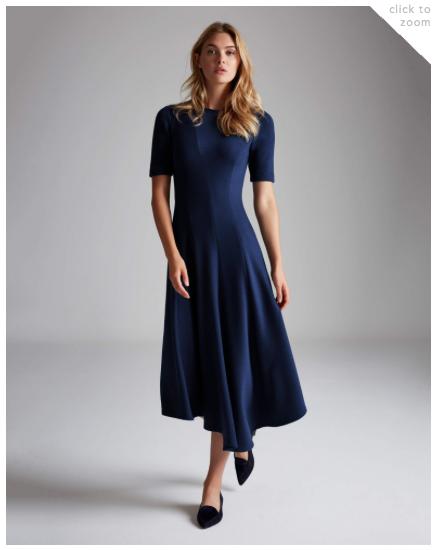 Lafayette 148 - Aveena Dress and Bacily Flats