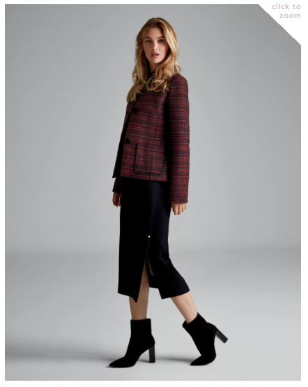 Lafayette 148 - Laurence Jacket and Lucina Skirt