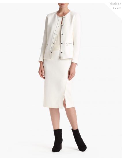 Lafayette 148 - Nouveau Crepe Kerrington Jacket and Lucina Pencil Skirt