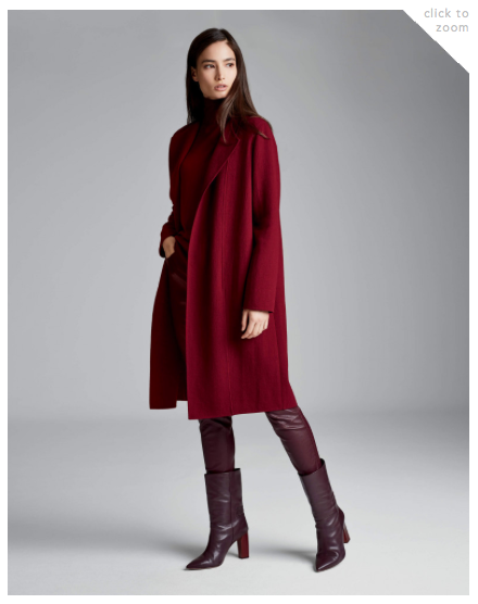 Lafayette 148 - Robyn Coat and Mercer Pant