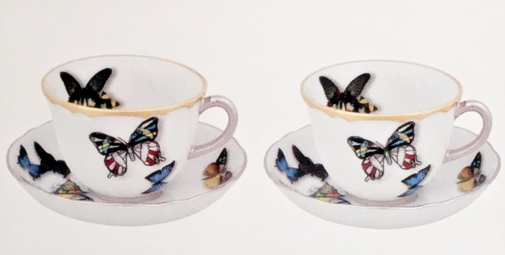 Butterfly Parade | Vista Alegre | Christian Lacroix